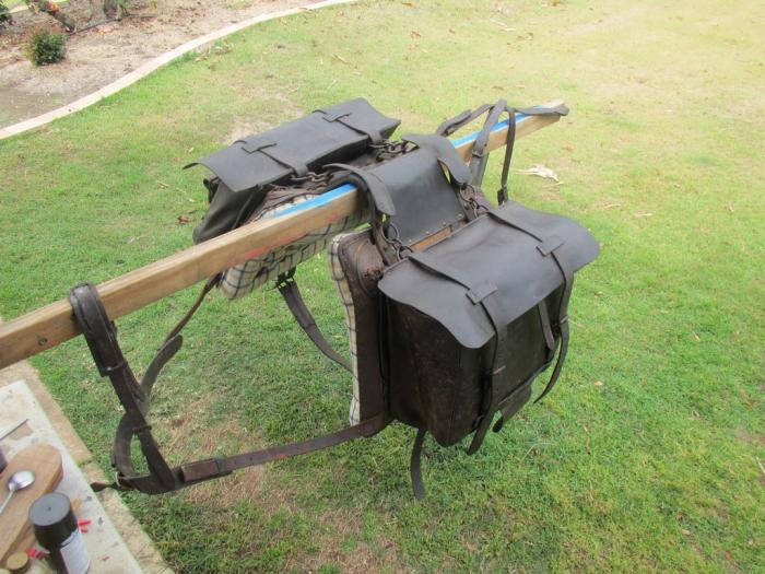 PACK SADDLE AUSTRALIAN MADE...ORIGINAL