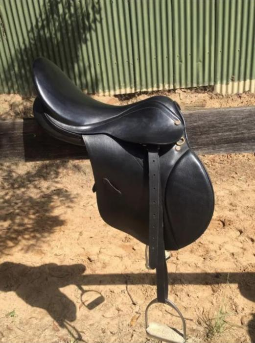 "Collegiate 17"" All Purpose Saddle"