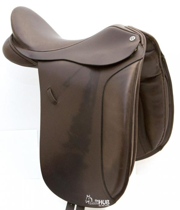 "Barnsby 17.5"" Show Saddle Try-Before-You-Buy"