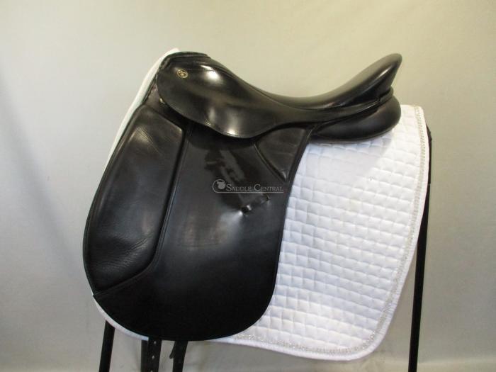 "Kieffer Lech Profi size 2 / 17.5"" Dressage Saddle"