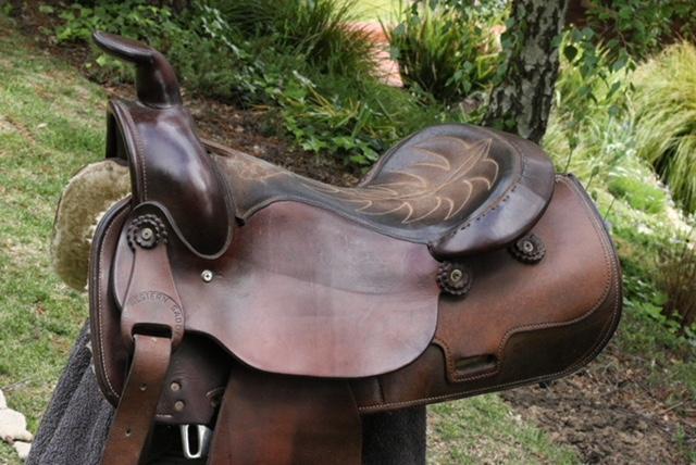 Original Cowling Western Saddle