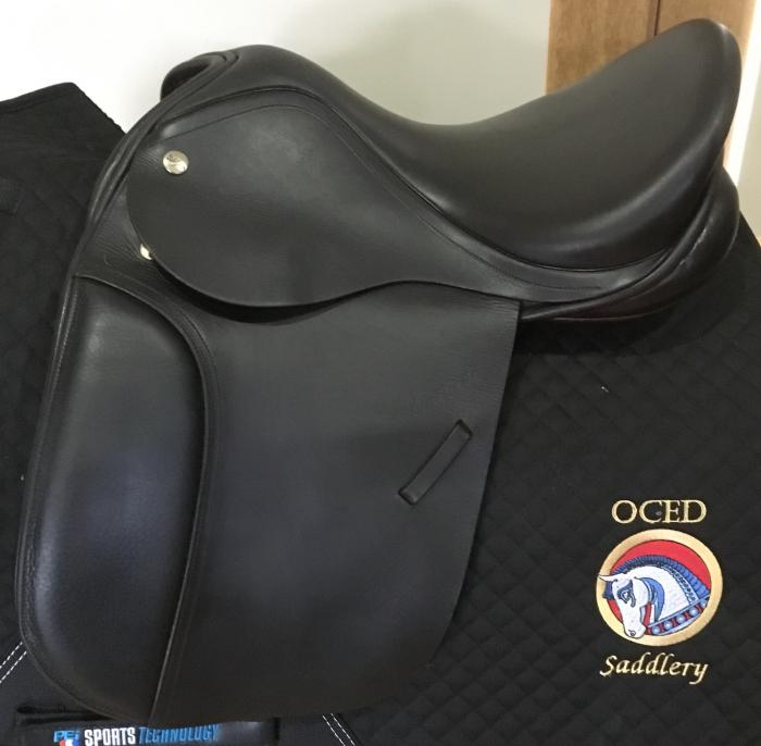 "15"" Pony Dressage/Show saddle - Harry Dabbs"