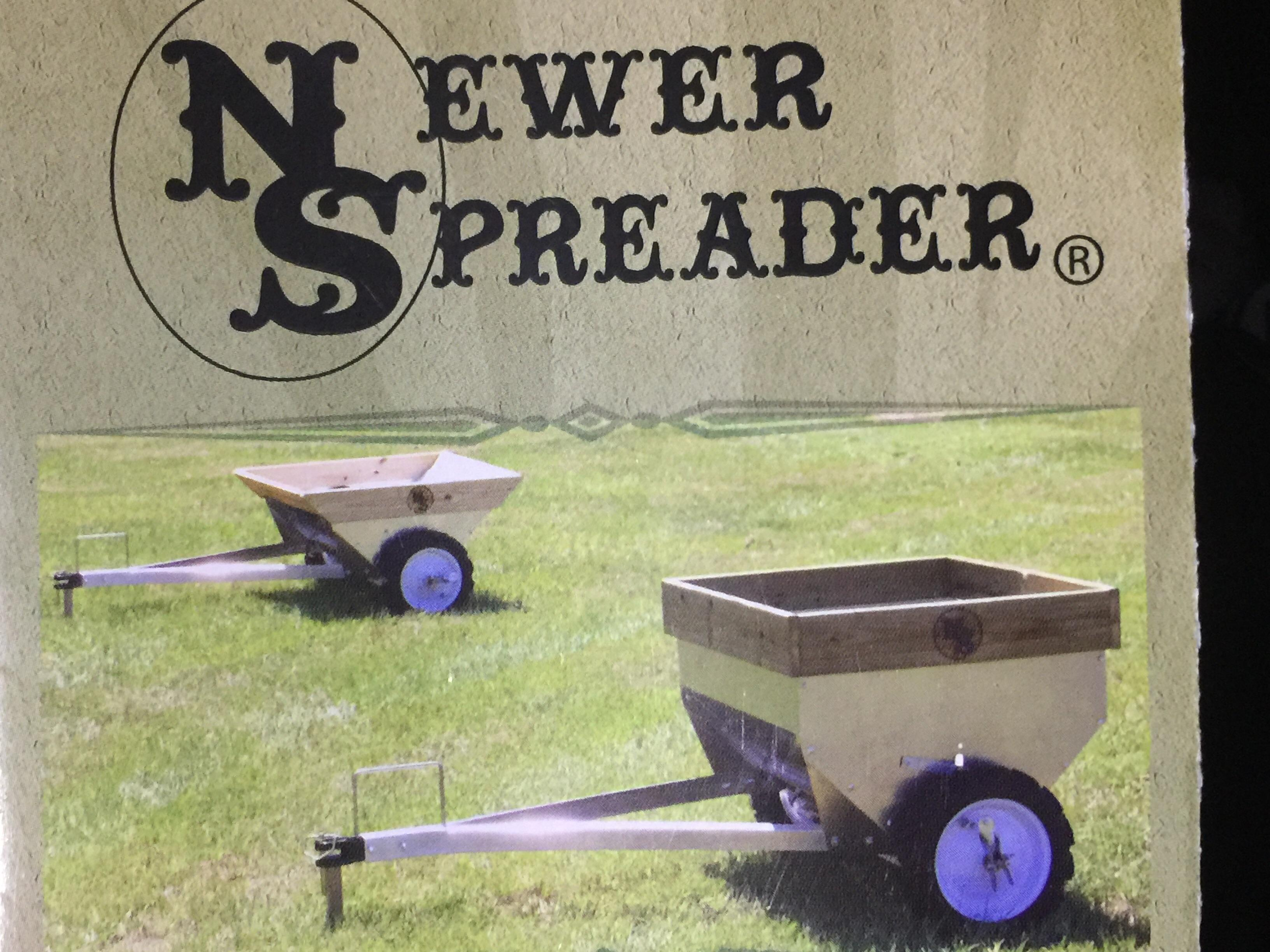 Manure spreader 'newer spreader'