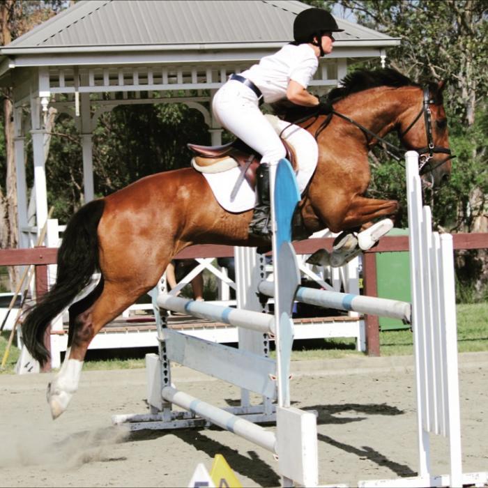Talented jumper