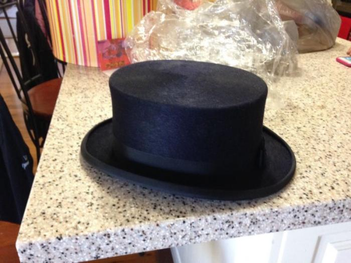 NEW Navy Christys' London Top Hat
