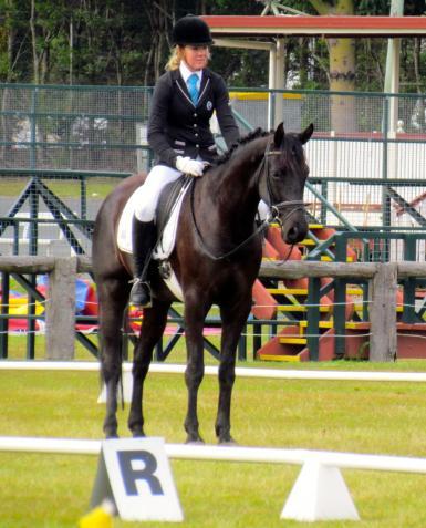 Lloyds 1st Dressage Competition