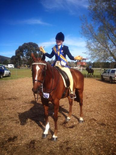 Champion Rider 15-17 years - 2013 Macquarie Bank Hack Championships