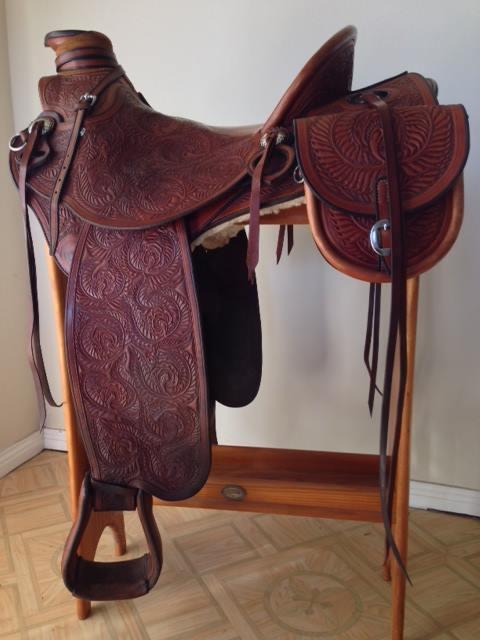 Unique Western Saddle by Peter Singleton