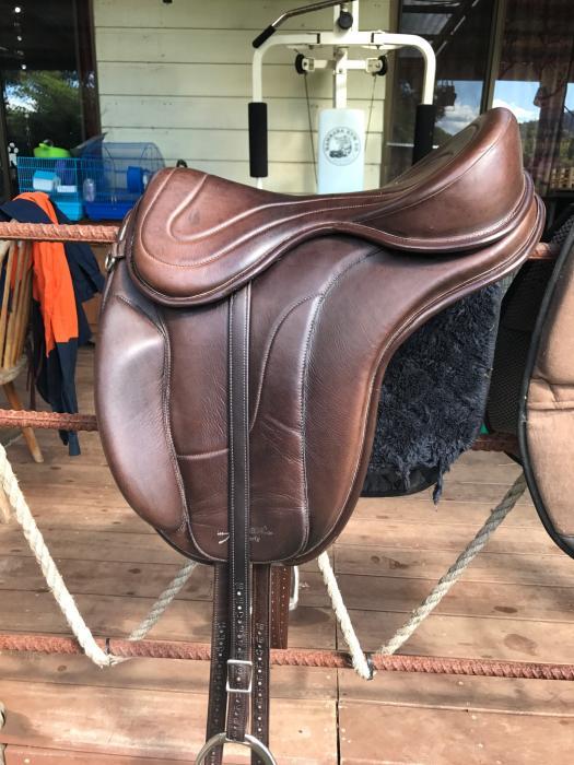 Saddle Original Freeform Italian Treeless