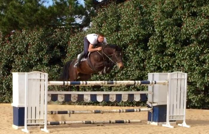 Eventing, jumping Super Mare