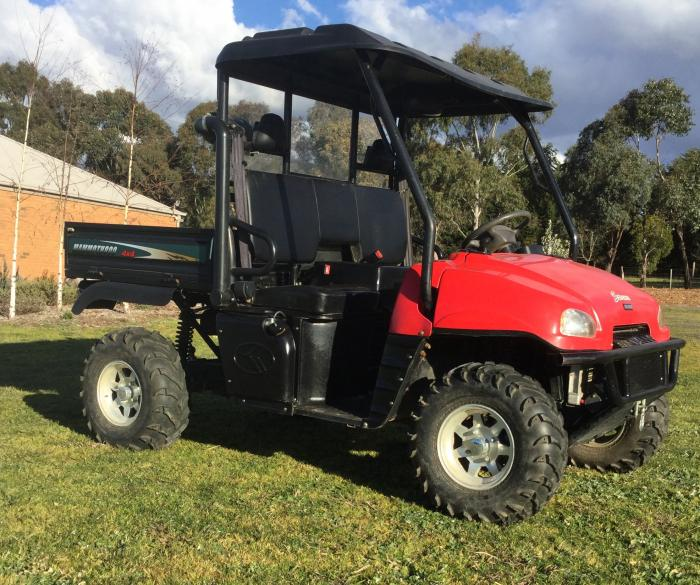 KAZUMA MAMMOTH 800cc Tilt Tray UTV PRICED TO SELL