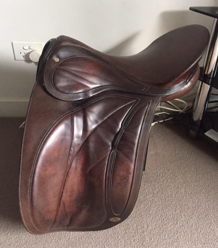 17' Bates Prix St George Dressage Saddle