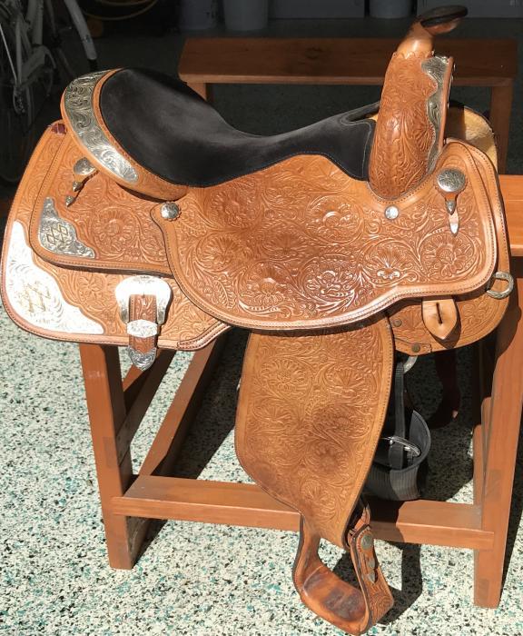 Western Show Saddle Circle Y Equitation Seat