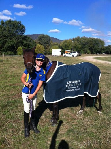 Kergunyah Horse Trials 2012 1st