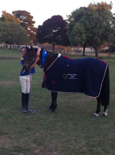 Mansfield Horse Trials 2012 1st