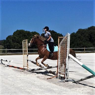 Billy jumping