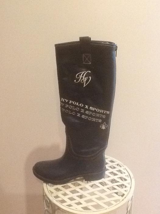 New HVPolo waterproof boots. Black