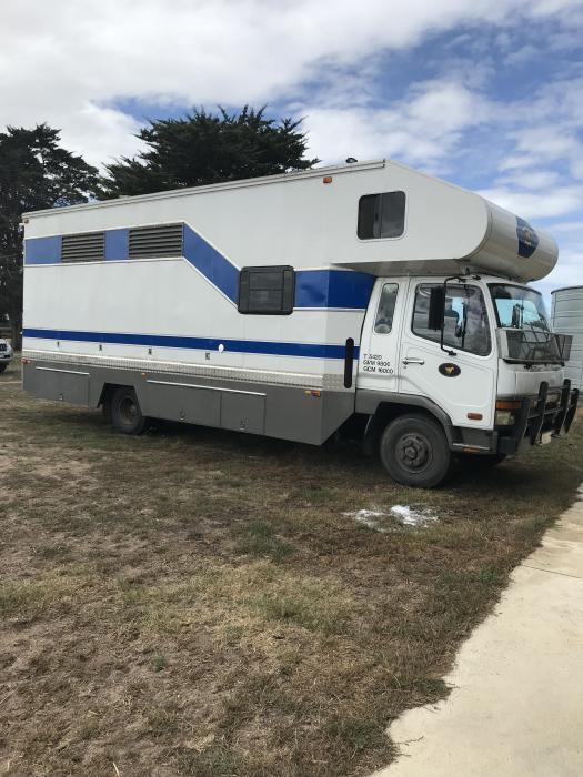 Fabulous 4 horse truck