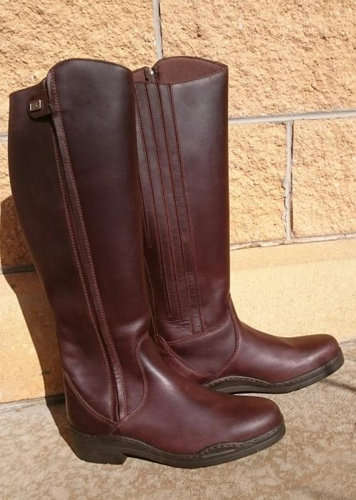 Brand New Tuffa Derby Long Boots Size 6/39/Aus 8