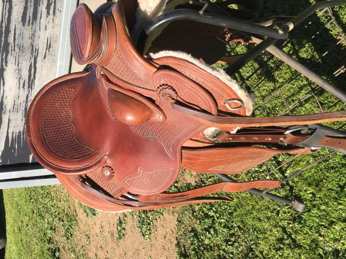 Horseline Serpentine Wade Saddle