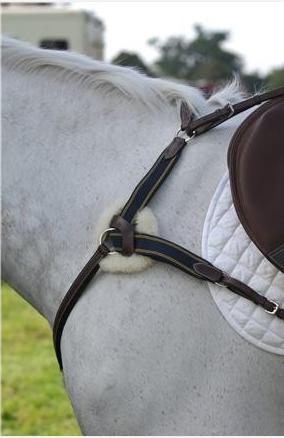 Southern Star Saddlery Brown Leather Martingale