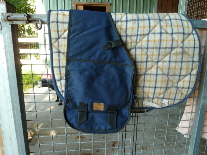 DOUBLE SADDLE BAG FOR REAR OF SADDLE