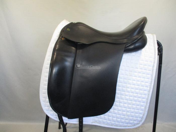 "Ideal 17"" Dressage Saddle on Barnsby Wide Tree"