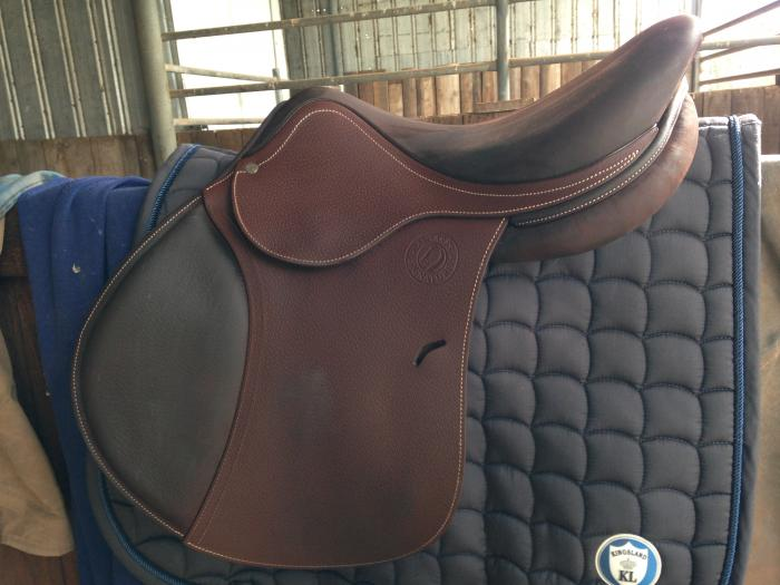 Antares Signature Jumping Saddle 17""