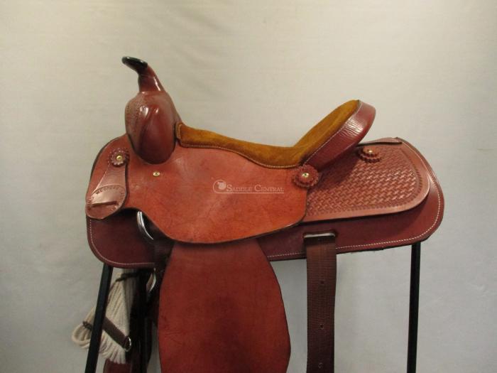 "Cowling 15.5"" Western Pleasure Saddle"