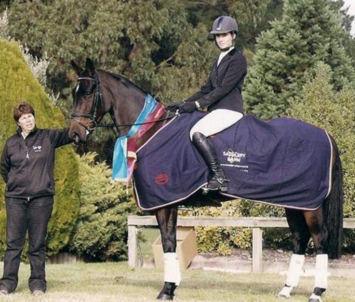 WOW - LEVEL 6 DRESSAGE, PERFECT YOUNG RIDER