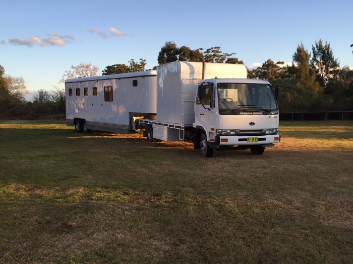 8 Horse Truck and Gooseneck