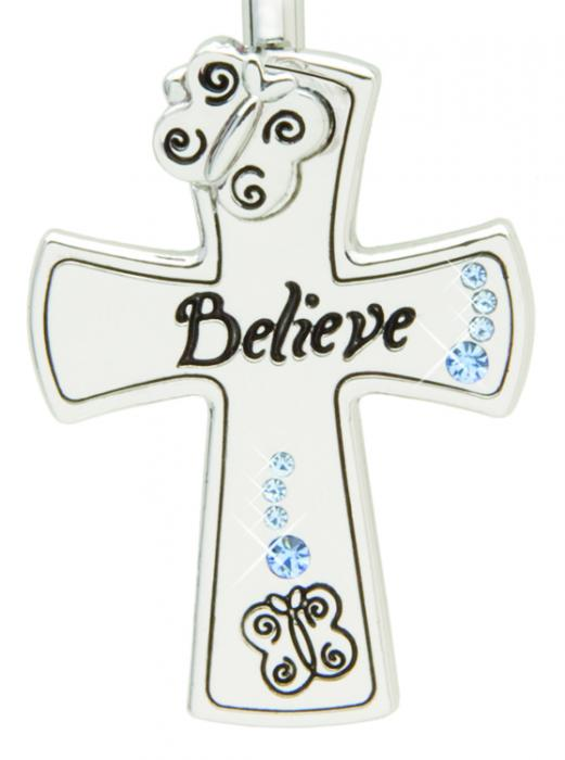 Handbag Key Finder - Believe Cross