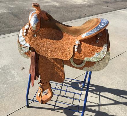 Blue Ribbon Show Saddle 17 seat _____+++