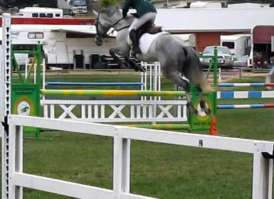 90cm Cooma, placed 4th