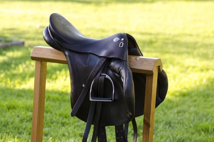Bruce Smith, 17inch Jumping Saddle