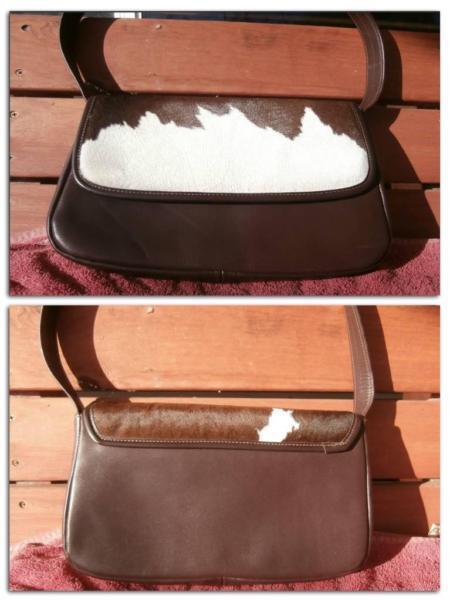 New Ella Maiden CowHide/Leather Handbag, RRP $300