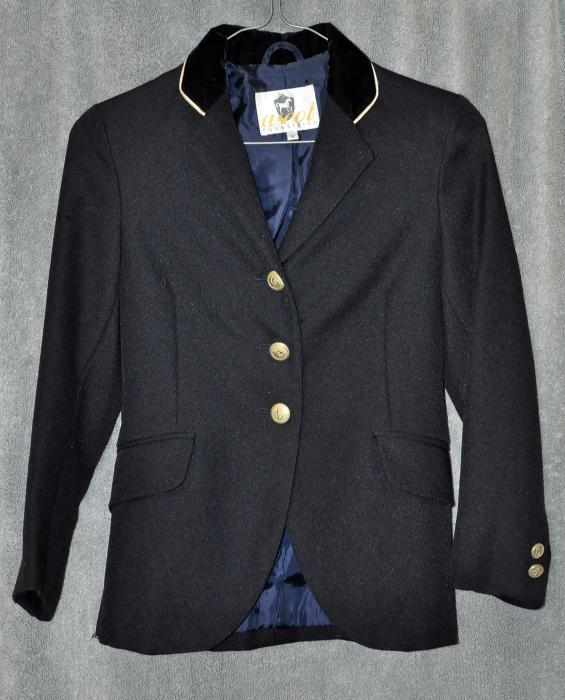 Ascot Navy Child's Jacket - As New & free postage