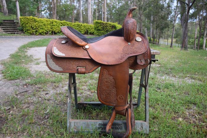 SOLD Circle Y Equitation Show Saddle