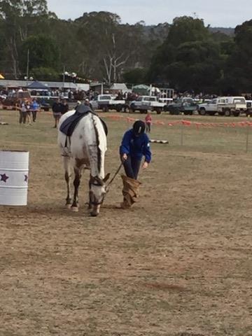 Rodeo- Sack Race Rheola