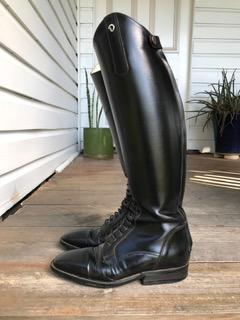 Tall Boots- Black Derby