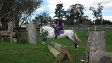 At the Eventing NSW Junior Camp 2014