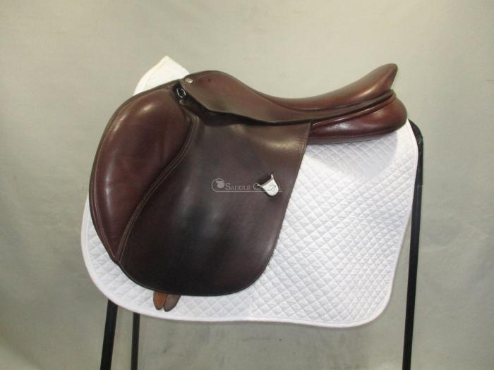 "Bates Elevation 17"" Jump Saddle"