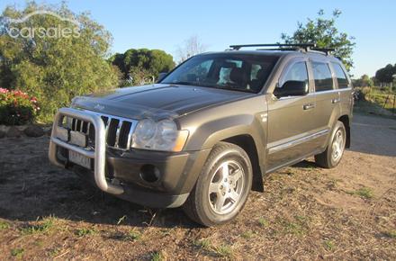 2006 Jeep Grand Cherokee Limited Navigator Auto 4x