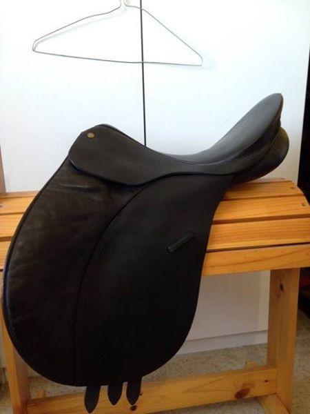 "Bates AP Saddle 16"""