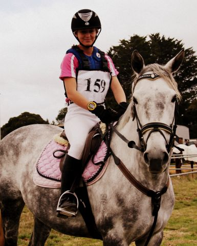 First Horse Trials- placed