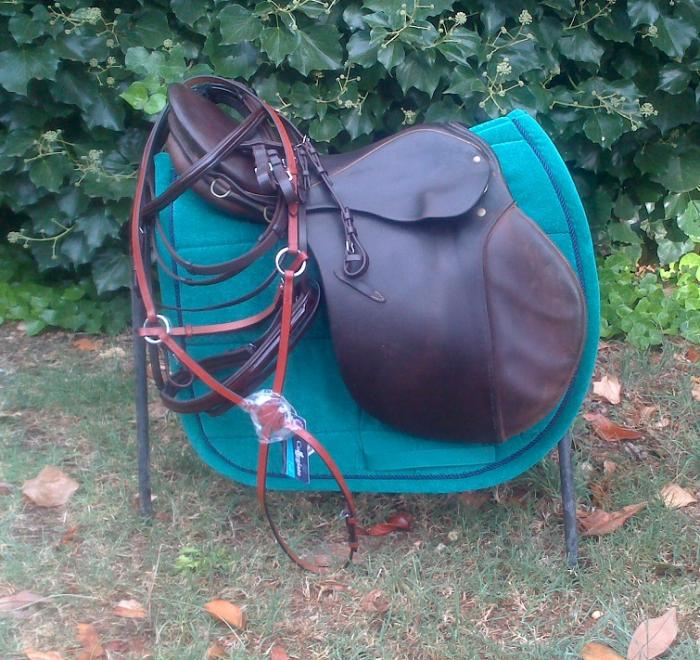 Kloster Schontal Jumping Saddle + Extras