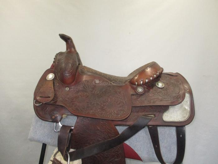"Cowling 15.5"" Western Pleasure Saddle PLUS EXTRAS"
