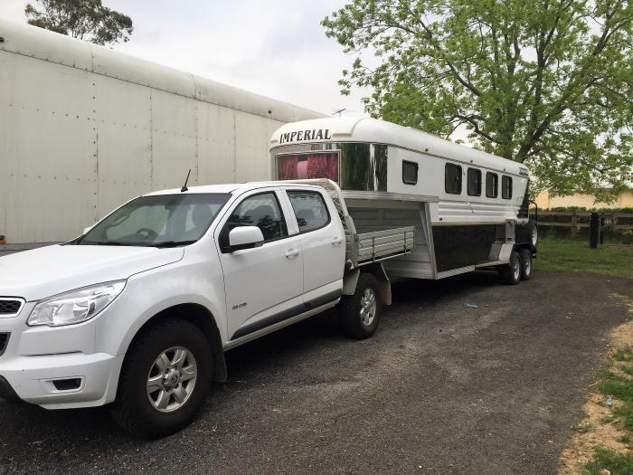 Holden Colorado & 4HAL Gooseneck Package!
