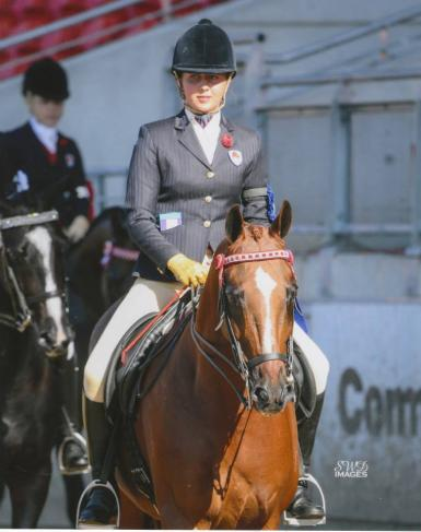 1st Novice Rider 17-21 years - 2013 Sydney Royal Easter Show (Lorelle Mercer)