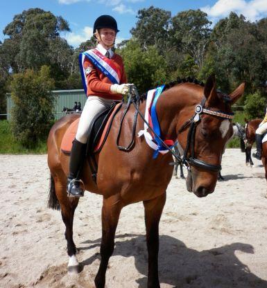Potomac River wins Champion Rider at Donvale